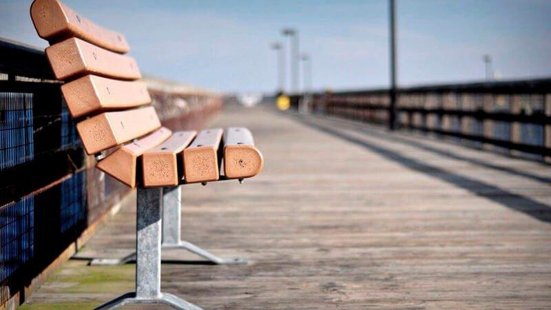 ספסל עץ איכותי - עצי חזון
