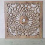 משרביה מעץ לקיר